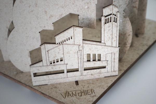 VanHier tafellamp Hilversum biocirculiar