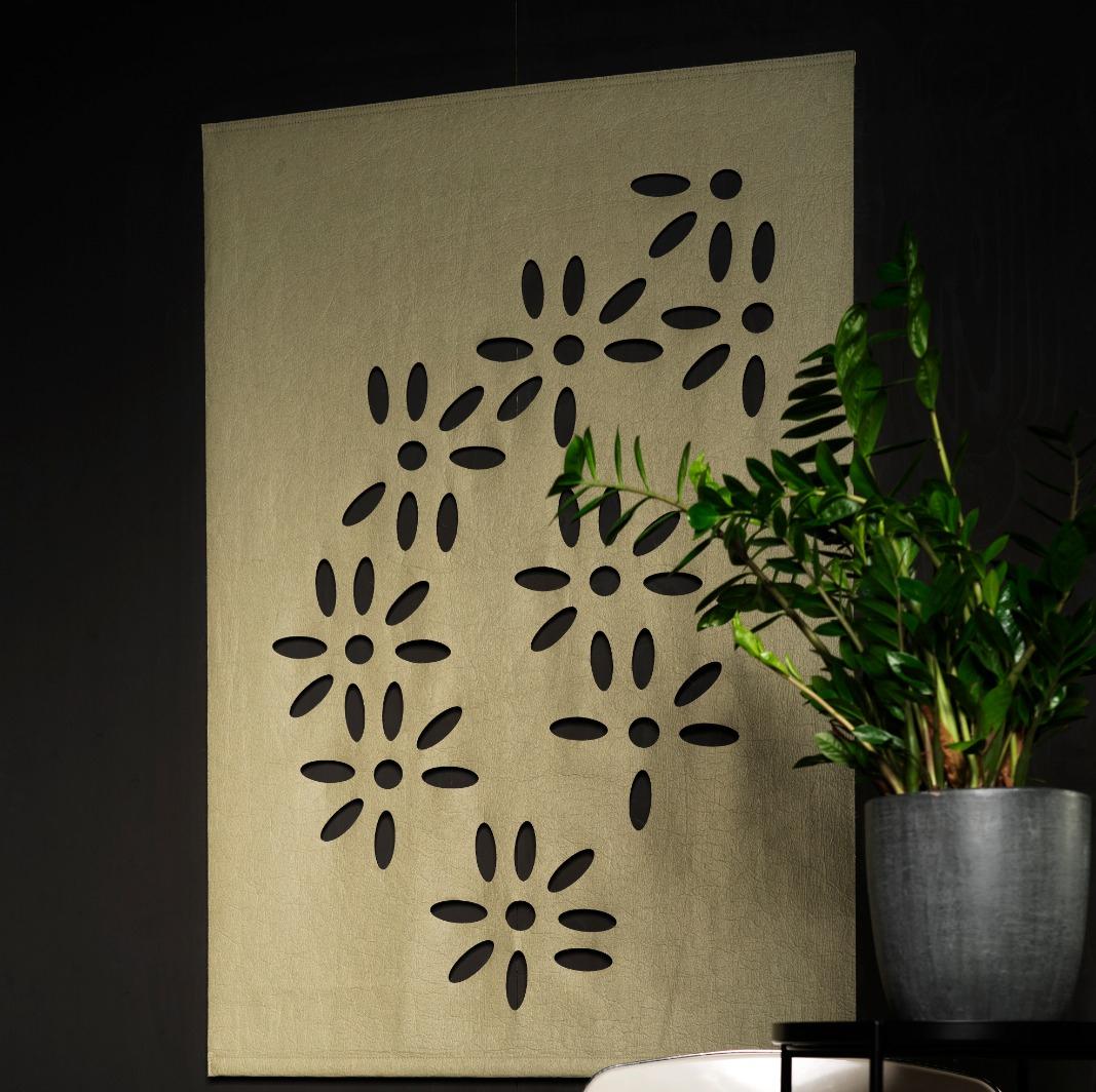 Home Of Treasures Floral Pine Wandkleed