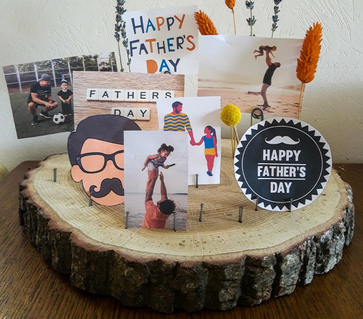 DIY kaartenhouder cadeau voor vaders