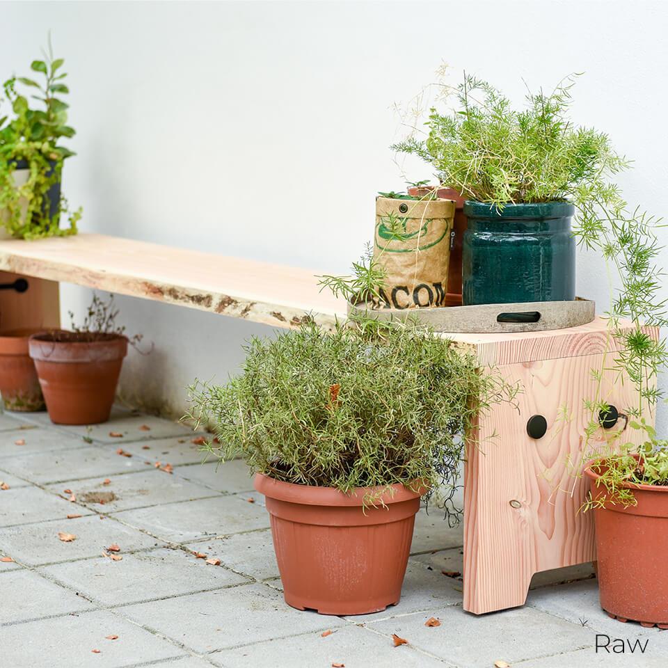 Weltevree Forestrybench tuinbank zomer StudioK2K interieuradvies duurzaam